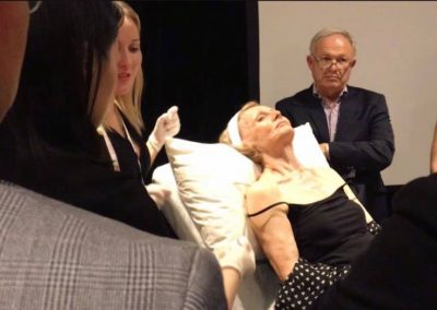Cosmetic thread lift training
